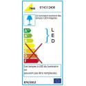 Grande lampe à poser à variateur design LED Corland