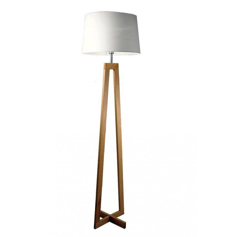 Lampadaire en bois SACHA LS scandinave par Aluminor