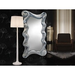 "Miroir rectangulaire Ondes collection ""GAUDI"" design - deco schuller"