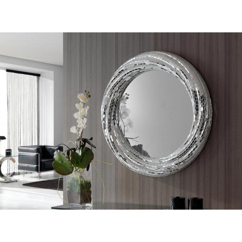 """Miroir rond Rodas collection """"GAUDI"""" design - deco schuller"""