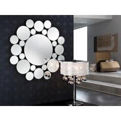 Miroir original design - LEILA ROND - deco schuller