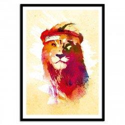 Poster Lion Robert Farkas 50 x 70 cm