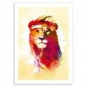 Poster Lion Robert Farkas