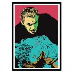 Poster Vampire Dracula Terrifying Lover - Vee Ladwa 50 x 70 cm