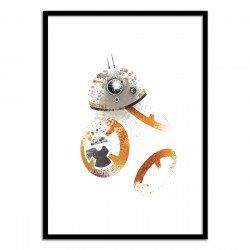 Affiche Star Wars BB8 50 x 70 cm