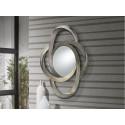 Miroir design Galaxia argent - deco originale schuller