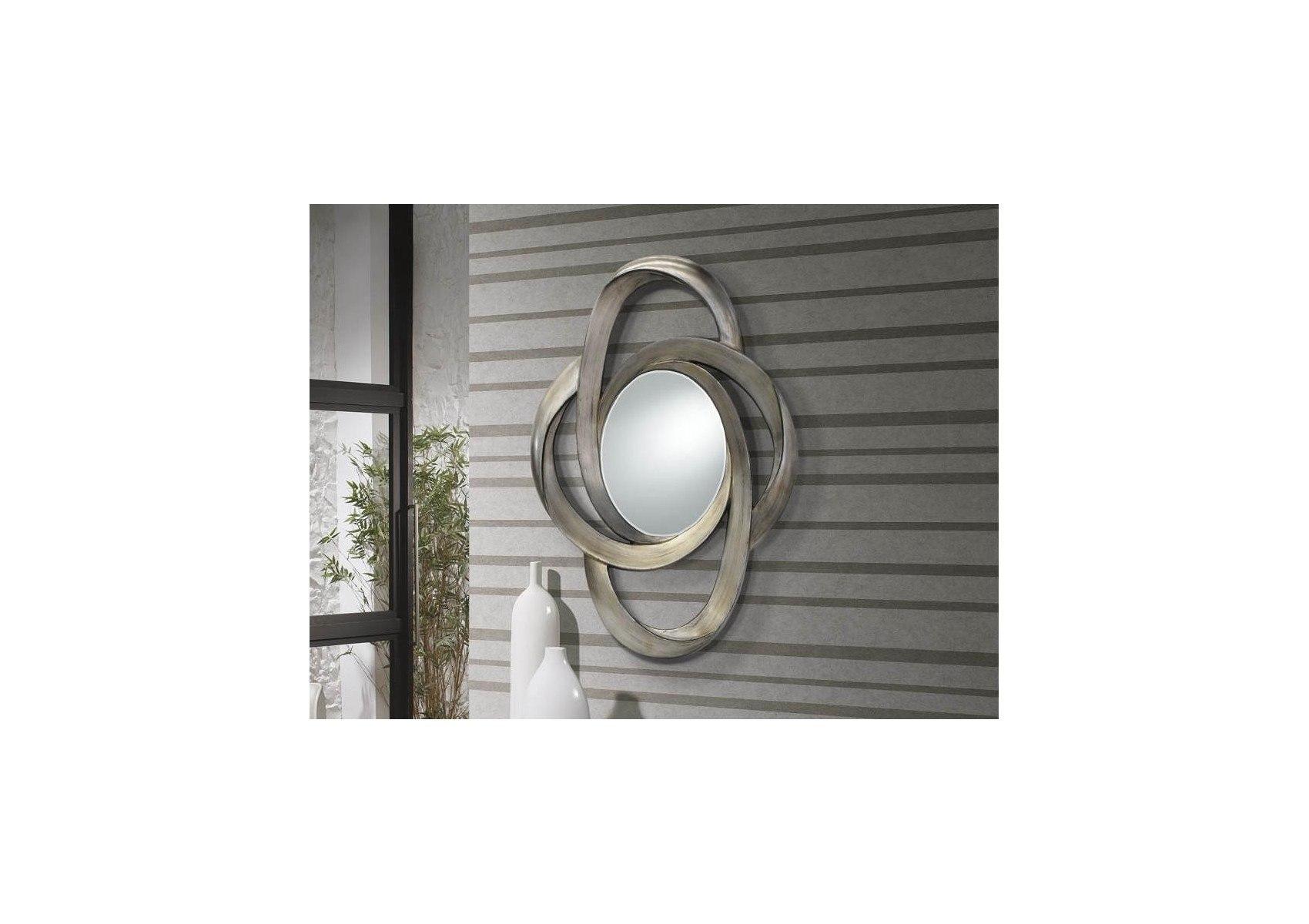 miroir design galaxia argent deco originale schuller - Miroir Design