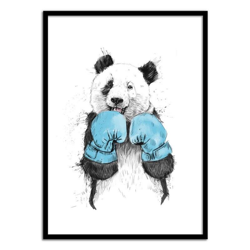 Poster The winner - Panda Boxeur - Balazs Solti