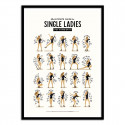 Poster Single Ladies Nour Tohme Beyonce