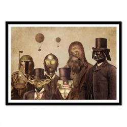 Poster Star Wars Vintage Victorian Wars - Terry Fan 50 x 70 cm