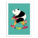 Affiche Bébé Panda 50 x 70 cm