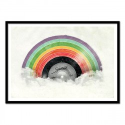 Poster déco Rainbow Classics Vinyle Spectrum