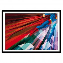 Poster Super Man - Man Up Liam Brazier 70 x 50 cm