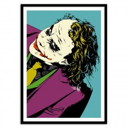 Poster Joker So Serious Heath Ledger - Vee Ladwa