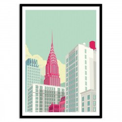 Poster Park avenue NYC - Remko Heemskerk