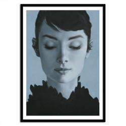 Poster Audrey Hepburn Yuri Shwedoff