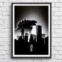 Poster Godzilla Monster Arian Noveir