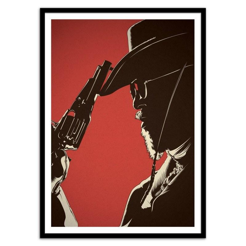 Poster Django Liberado - Cranio dsgn