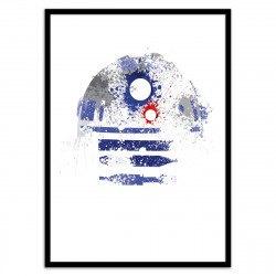 Poster R2D2 de Star Wars Astromech Deetoo Arian Noveir