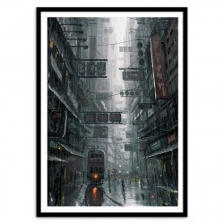 Poster Hong Kong Wlop 50 x 70 cm