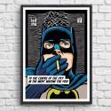 Poster Batman Post-Punk Bat Butcher Billy 50 x 70 cm