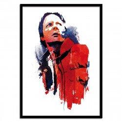 Poster Marty Mcfly Time Traveler Robert Farkas 50 x 70 cm