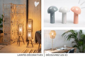 Lampes décoratives contemporaines